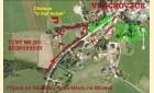 mapa dojezd v obci