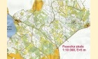 Mapa orientační běh - Pasecká skála-Medlov