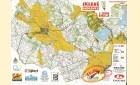 Mapa orientační běh - Vlachovice-Tři Studně-Sklené